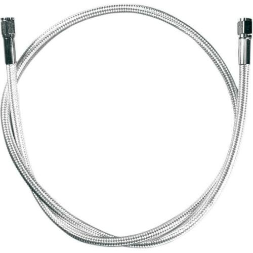 L 5560* Magnum Polished Stainless Braided Universal Brake Line  60in