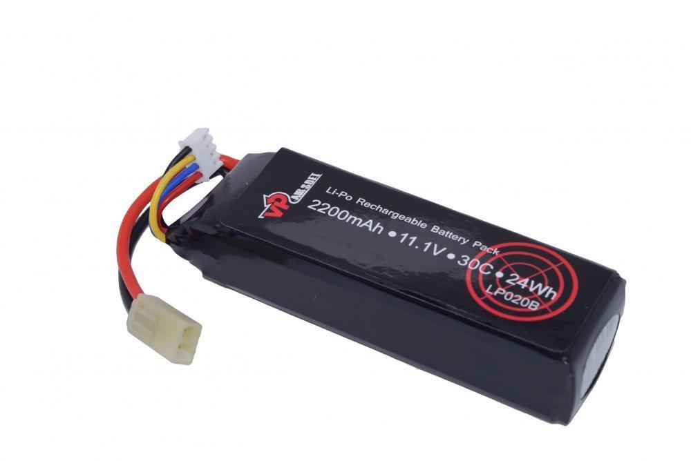 Airsoft 11.1v 2200mAh  LiPo battery Vapextech LP020B