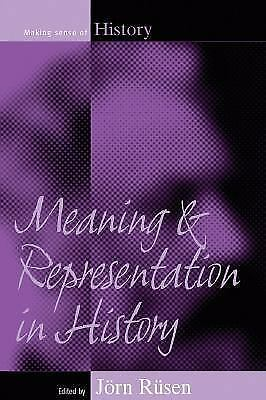 -Meaning And Representation In History (UK IMPORT) BOOK NEW