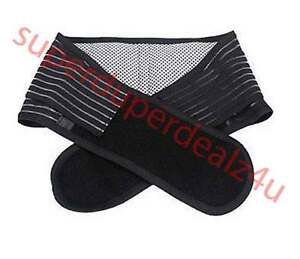 Lower-Back-Support-Belt-Infrared-Magnetic-Lumbar-Brace-Double-Pull-Strap-Pain