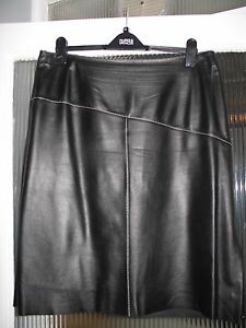 Per Una, Marks and Spencer Stunning 100% Leather Skirt size 18 | eBay