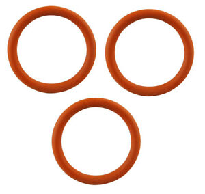 EAM ESAM ECAM Brew group Infuser Unit Gaskets DeLonghi Set 3x O-Rings