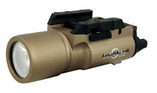 X300 LED High Output Weaponlight Pistol Picatinny Light (Tan) For Airsoft