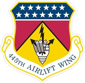 US-Air-Force-USAF-445th-Airlift-Wing-Decal-Sticker