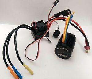 540-3800-KV-BRUSHLESS-Motor-amp-ESC-Combo-Set-1-10-RC-Car-Fits-Tamiya-HPI-HSP