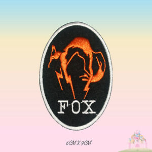 Fox Kajima Embroidered Iron On Sew On Patch Badge For Clothes etc