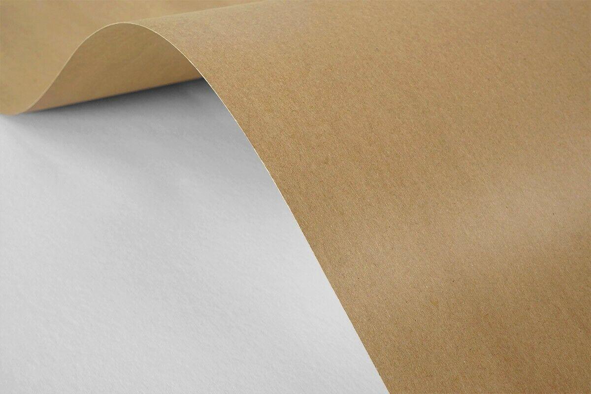 25x Braun Kartenset DIN A6 Kraftpapier 300g Natur-Karton Recycling DIY Handwerk