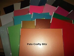 10-A4-Sheets-Centura-Pearlescent-Pearlised-Shimmer-Card-300gsm-Various-Colours