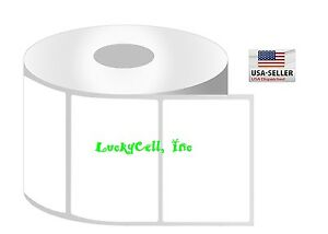 "3x1.5 (3"" x 1-1/2"") Direct Thermal Zebra Eltron Labels (9 Rolls/950 Labels)"
