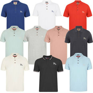 Mens-Tokyo-Laundry-Cotton-Classic-Casual-Short-Sleeve-Polo-Shirt-Top-Size-S-XXL