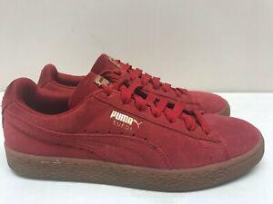 Womens Puma Suede Red | eBay