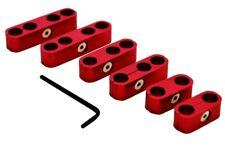 Red Billet Aluminum Universal Spark Plug Wire Looms 789mm Separator Sbc Bbc
