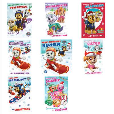 Paw Patrol Christmas.Paw Patrol Christmas Cards Assorted Ebay