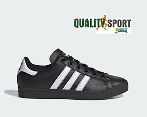 Détails sur Adidas Coast Star Noir Chaussures Femme Garçon Sportif Baskets EE9699 2019