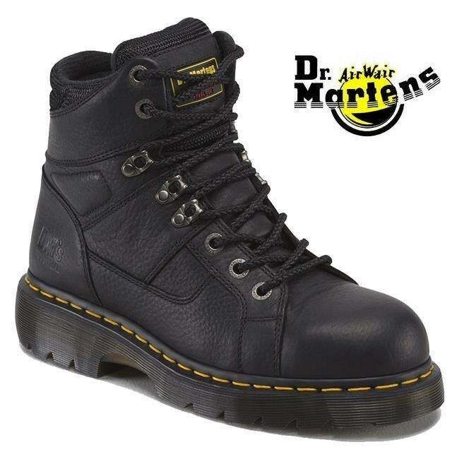 Dr. Martens IRONBRIDGE SAFETY STEEL TOE & MIDSOLE INDUSTRIAL Stiefel BRAND NEW BOX