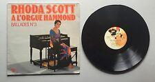 Ref539 Vinyle 33 Tours Rhoda Scott L'orgue Hammond Ballade N3
