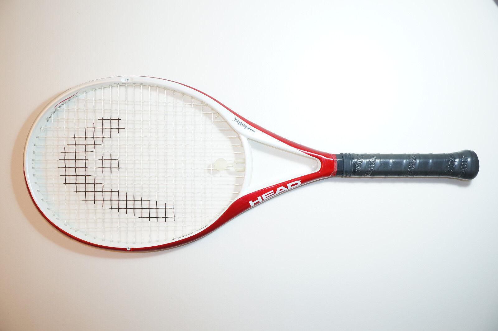 1 el flujo de aire cabeza una raqueta de tenis 4 3 8 EU3 L3
