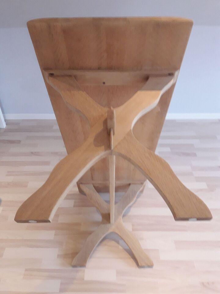 Sofabord, egetræ, b: 51 l: 149 h: 57
