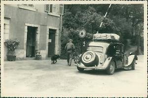 Pyrenees-Atlantiques-Eaux-Chaudes-1955-Vintage-silver-print-Tirage-argenti