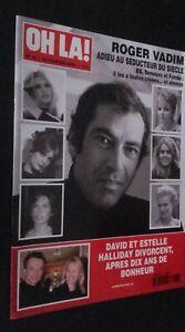 Revista-Brigitte-Bardot-Oh-La-N-75-Fevreier-2000-Buen-Estado