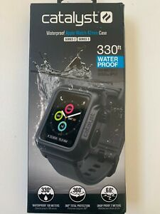 Genuine Catalyst Waterproof Case for 42mm Apple Watch Series 2/3 Gray