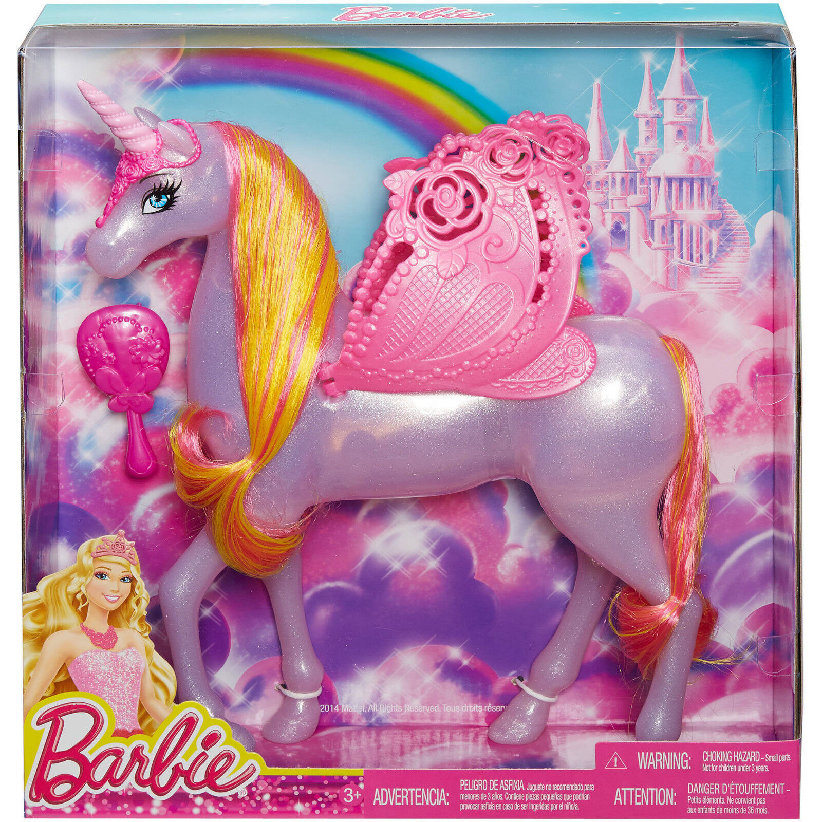 Barbie Fairytale Rosa Pegasus Unicorn
