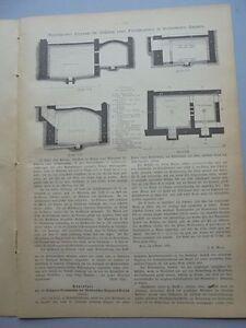 à Condition De 1886 83 Eiskammer De Réfrigération Une Viande Chambre Charcuterie Boucher-afficher Le Titre D'origine