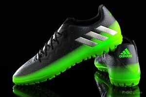 de Astroturf Trainer Vert aq3524 Chaussures football Adidas T 16 Crampons Messi Bottes 3 7vqYR1
