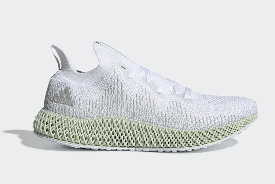 Men's Brand New Adidas Alphaedge 4D Athletic Fashion Sneakers [CG5526]