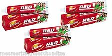 Dabur Red Tooth Paste for Teeth & Gums - 200 g (Pack of 3)