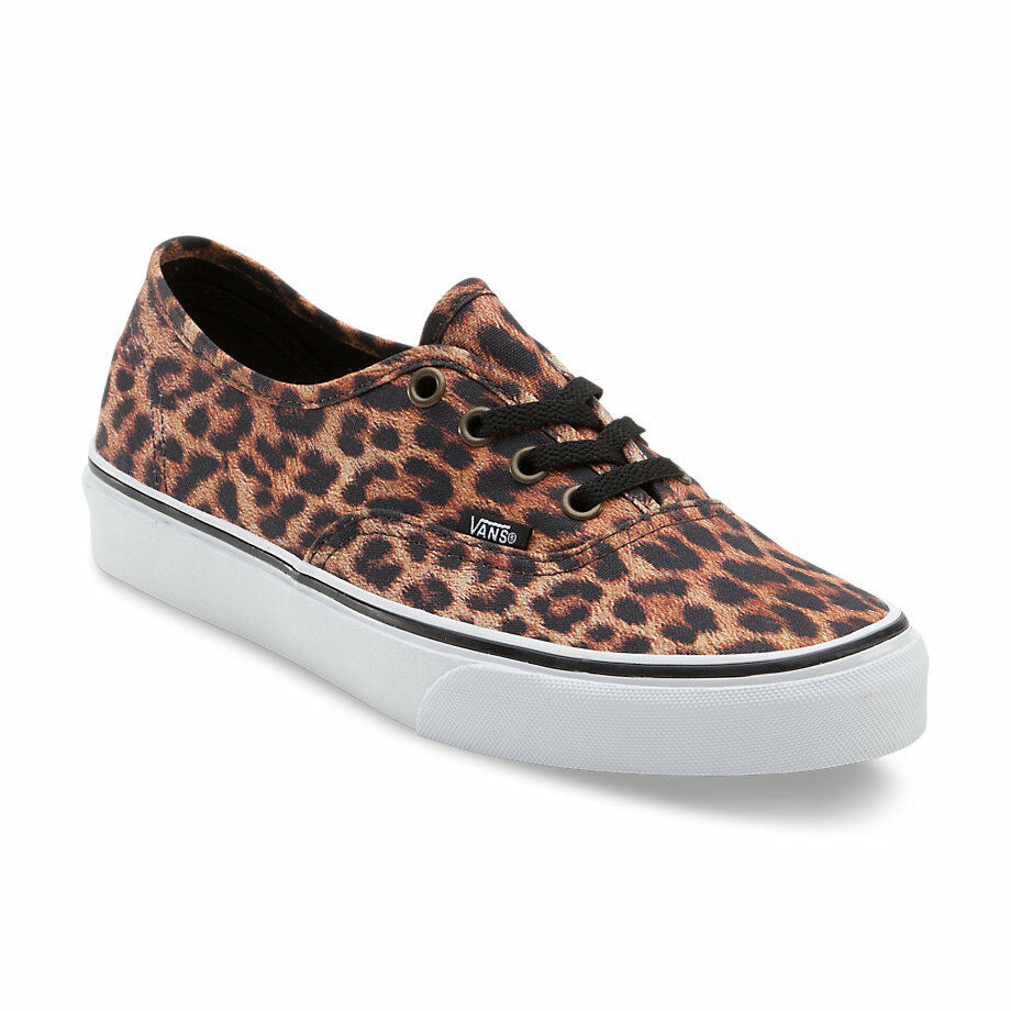 Vans Authentic LEOPARD shoes (NEW) Womens Size Size Size 5 Five ANIMAL PRINT Free Shipping 94c9c6