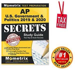Best Practice Amp 2020 AP US Government and Politics 2019 & 2020 Secrets Study Guide