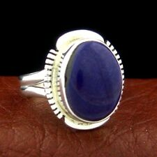 Sterling Silver Ladies Sugilite Ring Size 7 Native American Made --- R4 C T