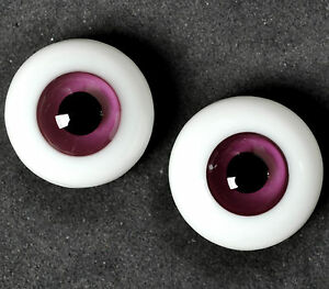 New 20MM Light Brown Lines Glass BJD Eyes For DOD AOD Volks Reborn Dollfie Luts