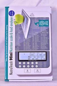 NutraTrack Mini Digital Nutrition Food Scale, Macro Diet, Gram / Ounce scale