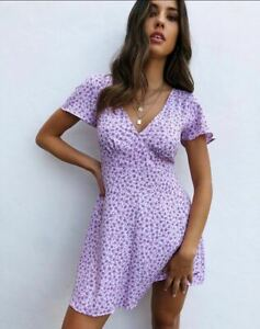 MOTEL-ROCKS-Elara-Dress-in-Ditsy-Rose-Lilac-L-Large-mr87