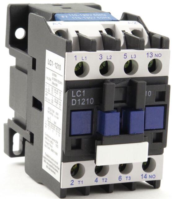 New TELEMECANIQUE LC1-D12 AC Contactor LC1D12 LC1D1210-G6 120V Coil