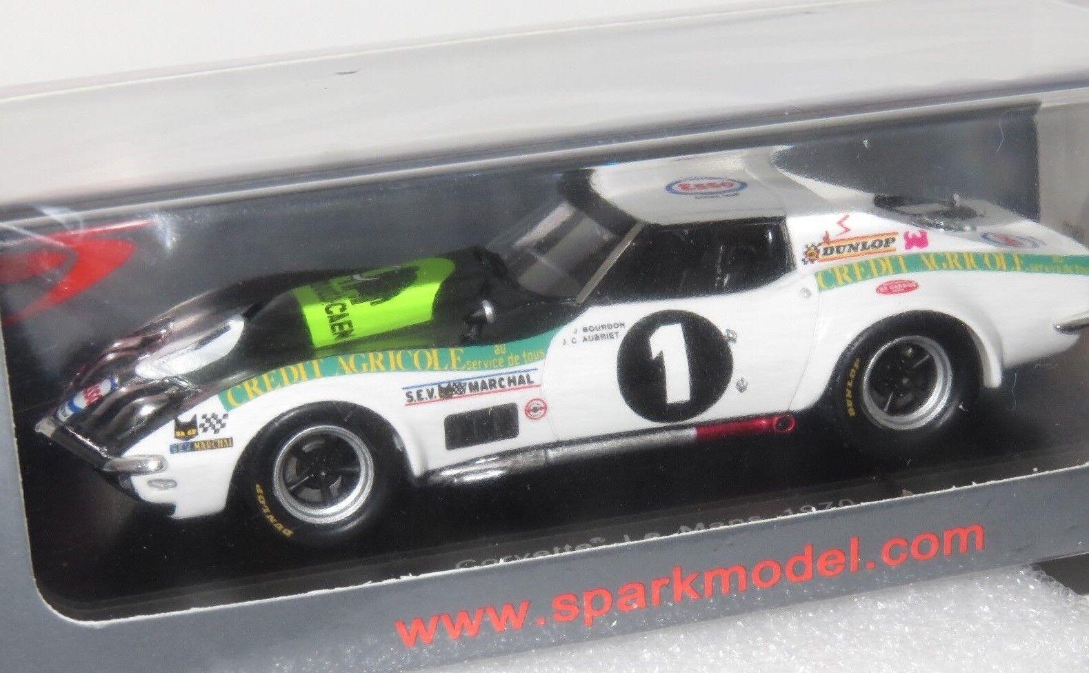 1 43 Chevrolet Corvette  Ecurie Leopard  Le Mans Mans Mans 24 Hrs 1970 e13fd2