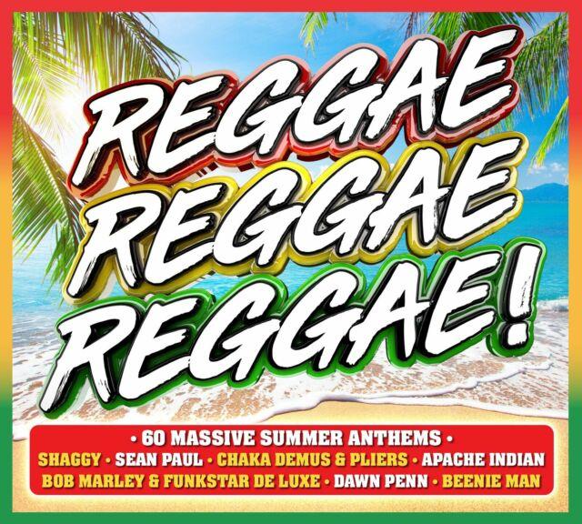 Various Artists - Reggae Reggae Reggae - New 3CD Album - Released 21/06/2019