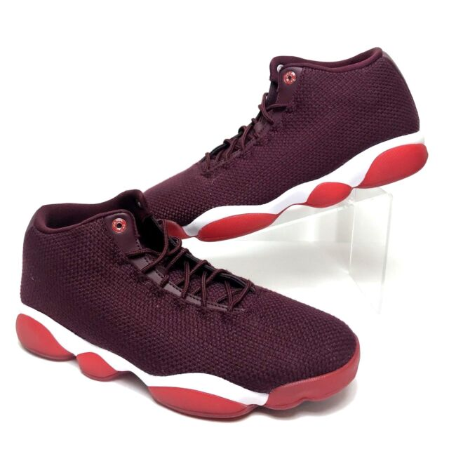Nike Air Jordan Horizon Low Basketball Shoes Mens 11 Night Maroon 845098 600 NEW