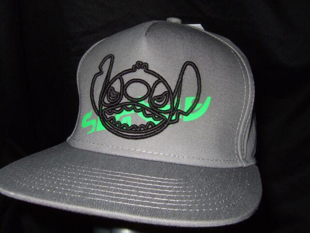 e8b9fb45a5410 ... australia new gray neff disney lilo and stitch alien snapback baseball  flat bill hat cap 16e96