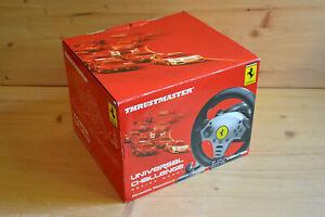 NGC-Universal-Thrustmaster-Challenge-Racing-Wheel-Lenkrad-in-OVP