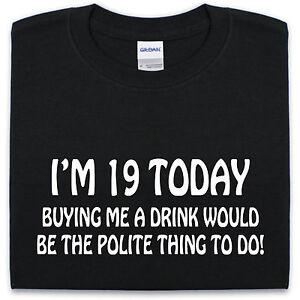 19TH-anniversaire-t-shirt-s-xxl-drole-blague-cadeau-nouveaute-cadeau-pour-homme-femme-pub
