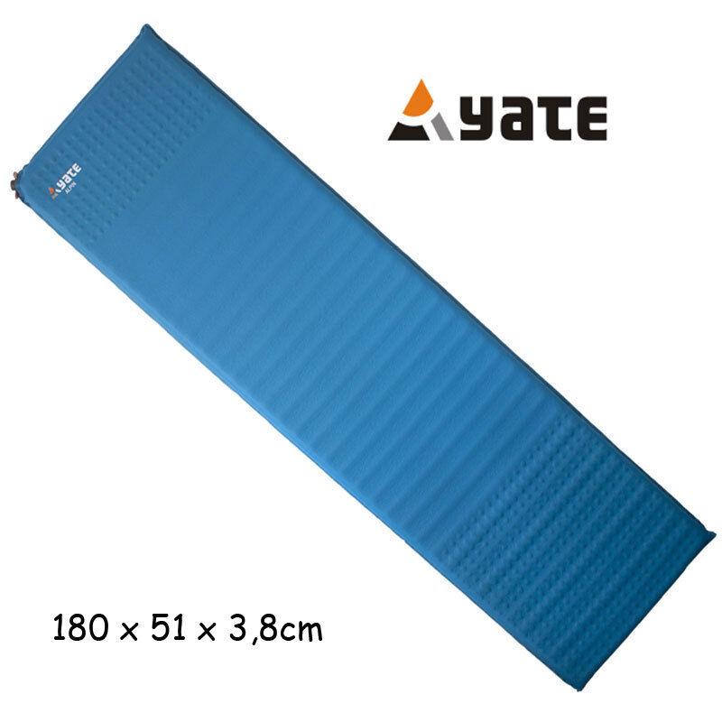 Yate Profi Isomatte selbstaufblasend ALPIN 3,8cm  Push in  R-Wert 3,9