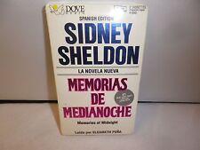 SIDNEY SHELTON SPANISH EDITION MEMORIAS DE MEDIANOCHE 2 CASSETTES NEW SEALED