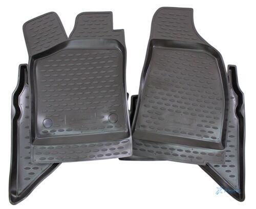 3D Gummifußmatten Gummimatten für Ford Ranger 2007-2011 4-tlg Set