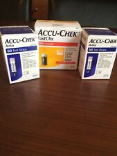 2 scatole ACCU-CHEK Aviva Strisce reattive 100 X Test diabetica più 204 lancette