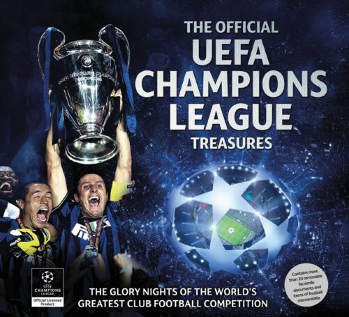 1 of 1 - The Official UEFA Champions League Treasures, Good, Keir Radnedge, Book