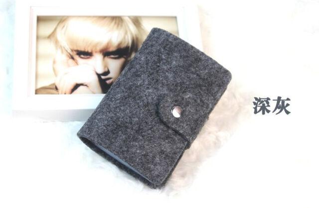 charm Womens Pocket Pouch ID Credit Card Wallet Cash Holder Organizer Case Box