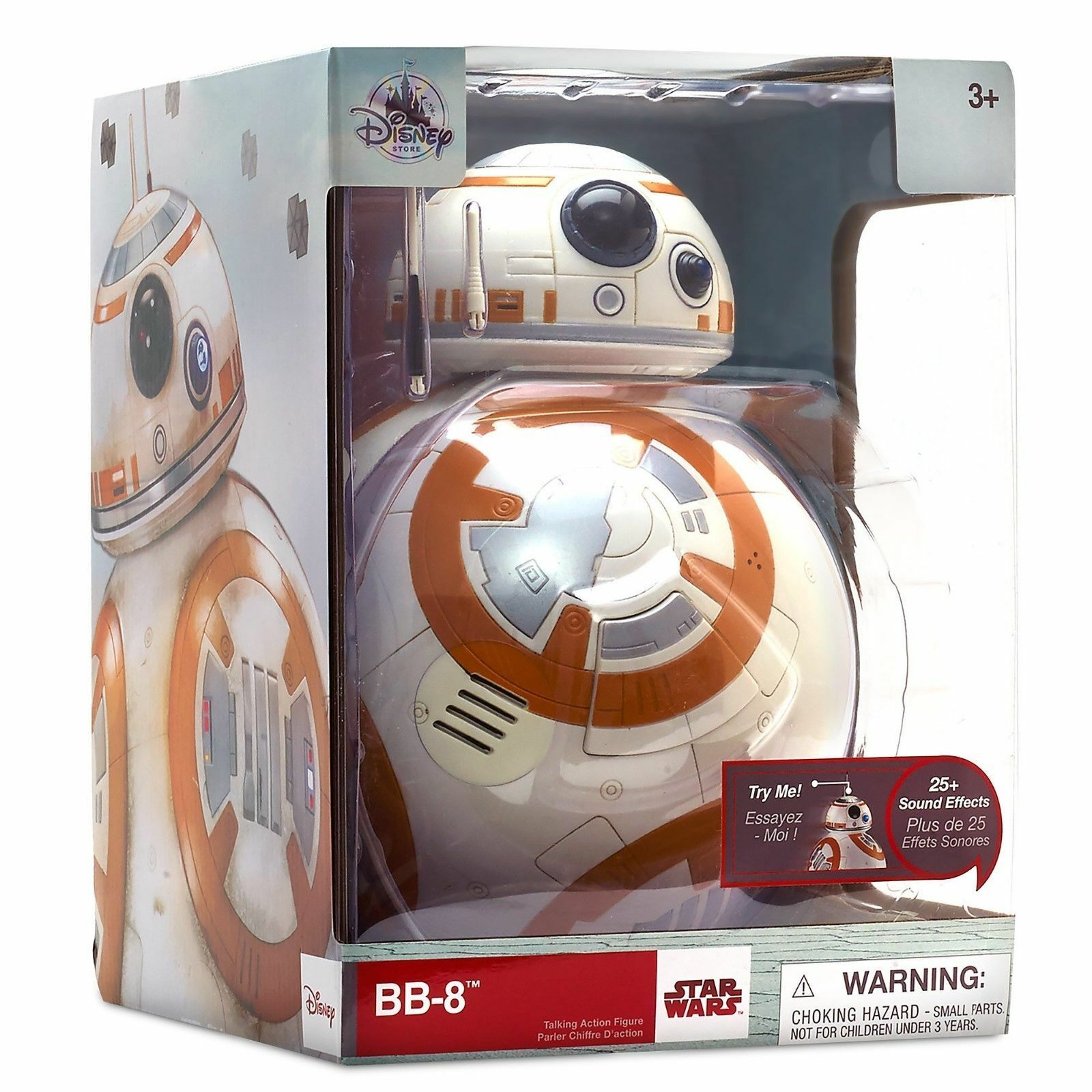 Star Wars BB-8 Talking Figure - 9 1/2 Inch - Star Wars: The Last Jedi  NEW